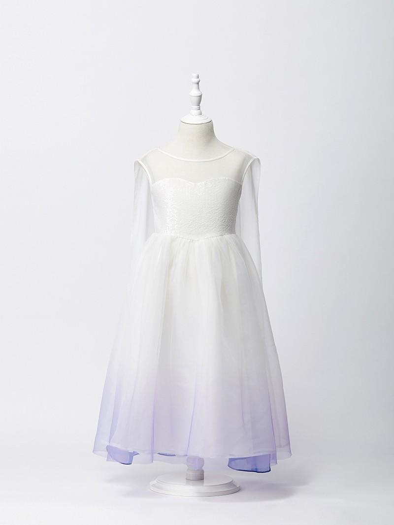 冰雪奇缘2艾莎白裙子