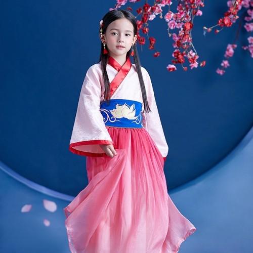 传播中国文化,DreamParty匠心打造汉服风格花木兰服装
