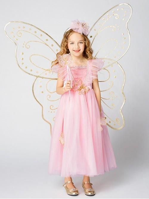 3D蝴蝶仙子套装粉色款