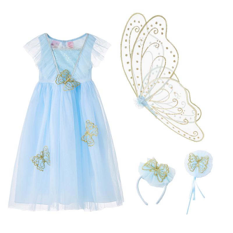 蝴蝶仙子套装蓝色款 (5)