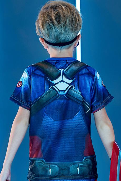 超级英雄装扮套装|美国队长