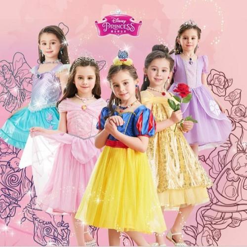 共11个角色,细数DreamParty推出的迪士尼公主裙