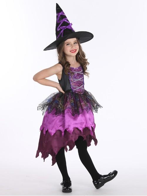 万圣节女巫装扮服