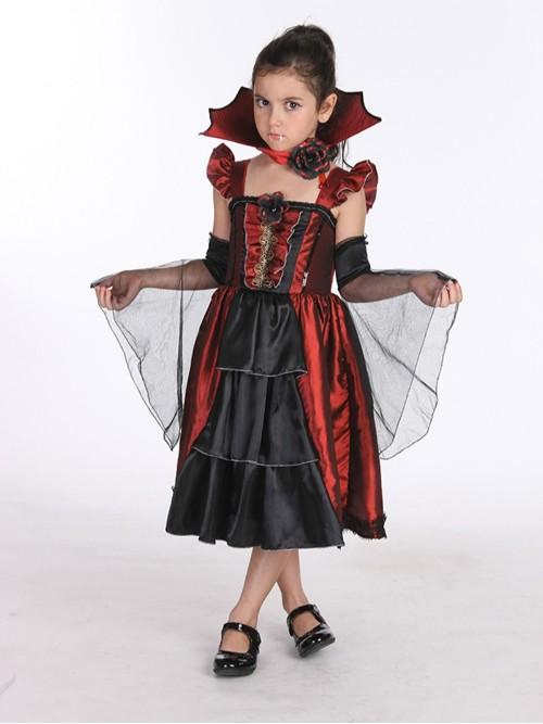 万圣节吸血鬼装扮服