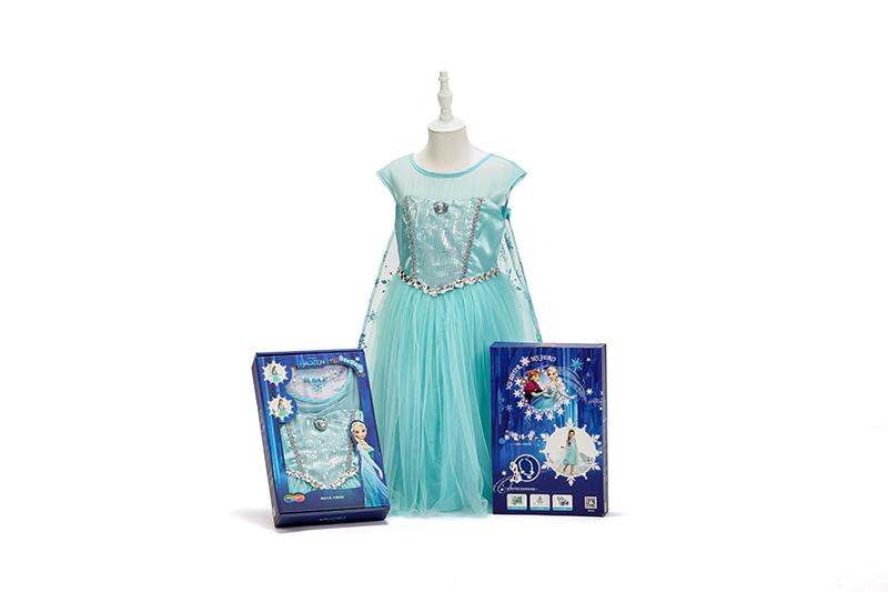 艾莎公主裙惊喜礼盒