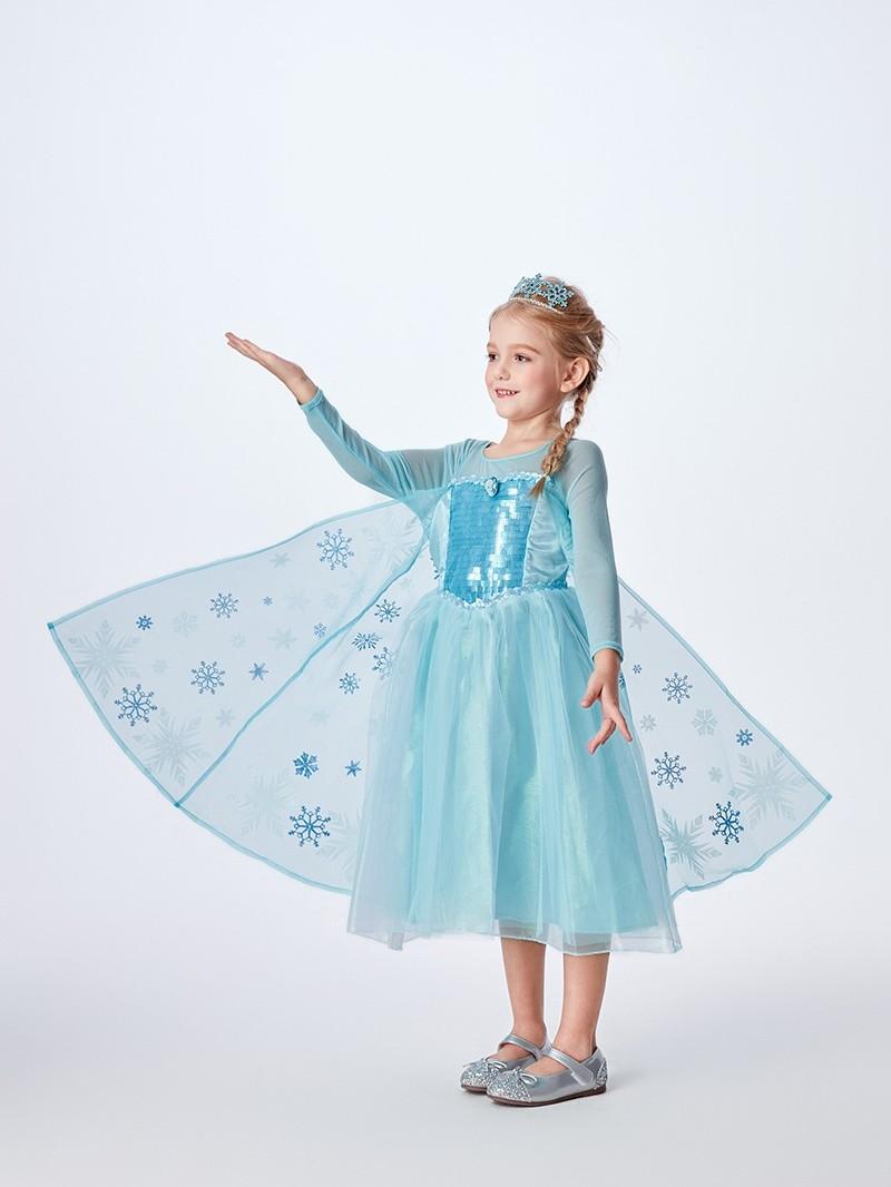 艾莎礼服裙|冰雪奇缘·艾莎