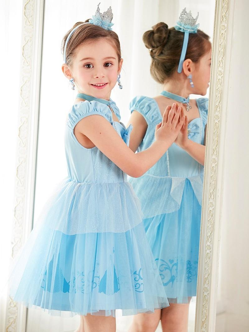 迪士尼仙蒂公主公主裙