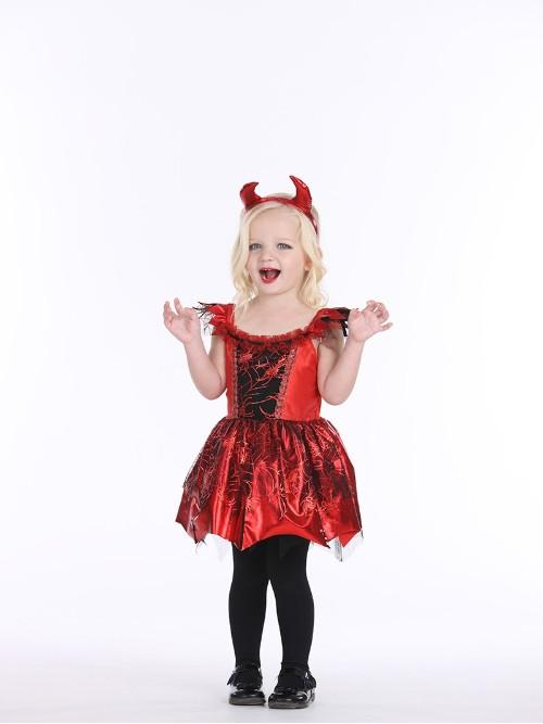 儿童万圣节恶魔系列装扮服