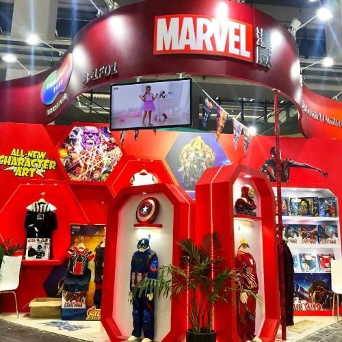 DreamParty上海CBME孕婴童展圆满落幕,迪士尼漫威主题展馆成打卡景点