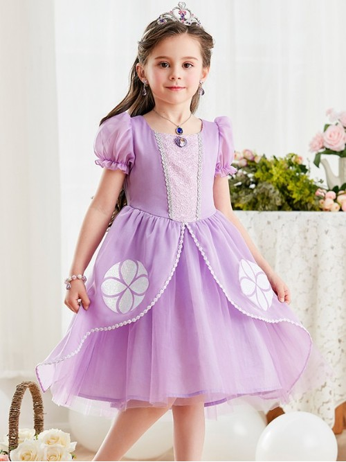 迪士尼苏菲亚公主裙