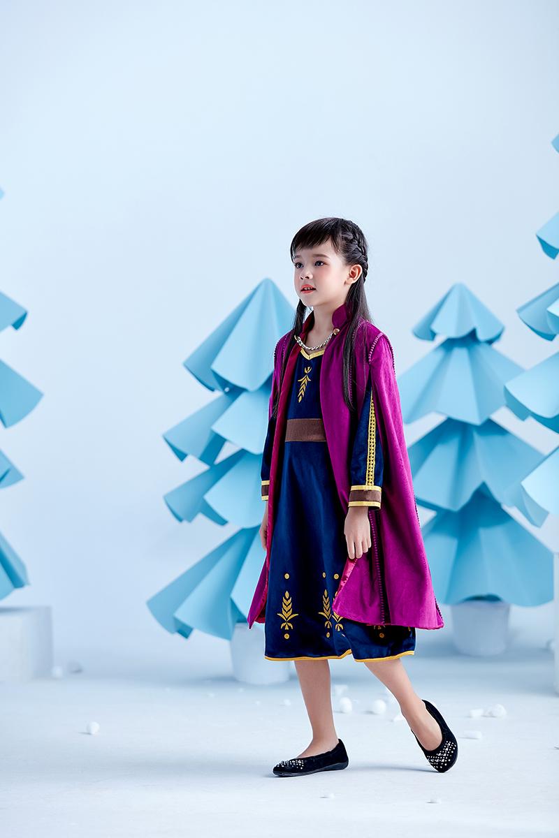 冰雪奇缘2安娜同款公主裙