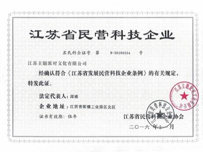 梦幻派对-江苏民营科技企业