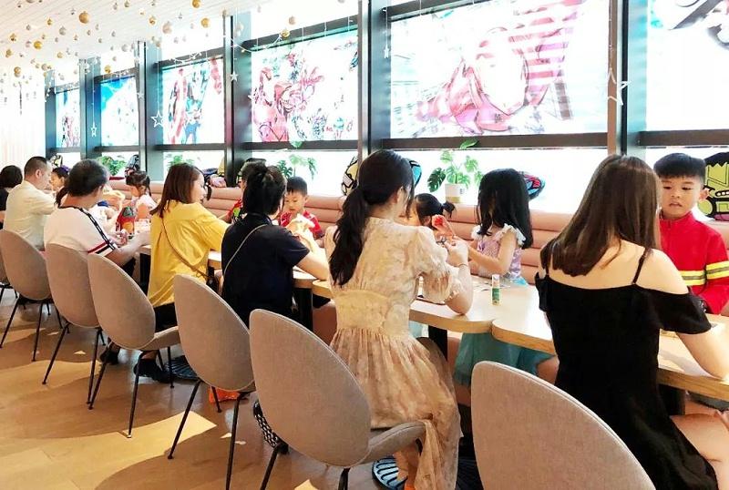 DreamParty与深圳BossBabe亲子餐厅联合打造4场漫威主题派对