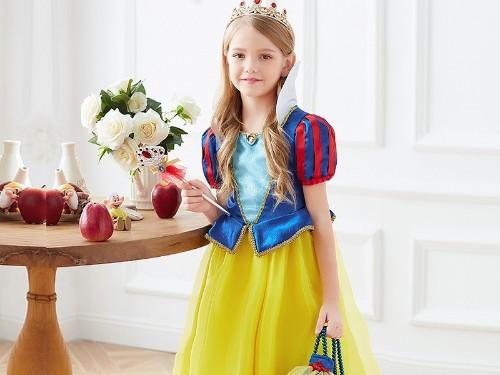 Dream Party白雪公主裙,受欢迎程度最高的迪士尼公主角色之一