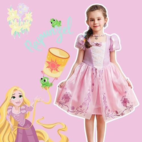 迪士尼公主裙春装推荐,等能出门了不辜负春天美景